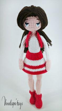 Cute amigurumi doll. (Inspiration).