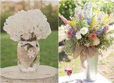 30 Rustic Wedding Ideas with Burlap Touches