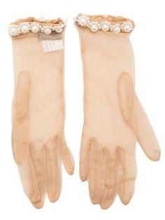 Simone Rocha Netted Gloves - Laboratoria - Farfetch.com