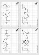 Risultati immagini per spiegeln grundschule arbeitsblätter - #Arbeitsblätter #Grundschule #immagini #Risultati #spiegeln Kindergarten Worksheets, Worksheets For Kids, Visual Perception Activities, Perspective Drawing Lessons, Math Division, First Grade Reading, Math Art, Homeschool Math, Home Schooling