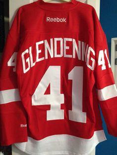 f4d116f60 Back Of Luke Glendening Detroit Jersey. Morgan Matuscak · detroit red wings