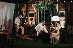 Vintage Southern Glamour Retro Wedding Under The Open Skies 1920s Wedding, Wedding Music, Farm Wedding, Wedding Shoot, Wedding Bride, Wedding Blog, Shabby Chic Wedding Decor, Bride And Groom Gifts, Wedding Trends