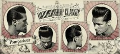 The Pompadour (Tapered)