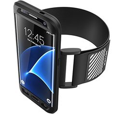 Galaxy S7 Edge Armband, SUPCASE Easy Fitting Sport Running Armband with Premium Flexible Case Combo for Samsung Galaxy S7 Edge 2016 Release (Black) - http://topcellulardeals.com/accessories/?product=galaxy-s7-edge-armband-supcase-easy-fitting-sport-running-armband-with-premium-flexible-case-combo-for-samsung-galaxy-s7-edge-2016-release-black Stay connected while you run for miles with SUPCASE Armband Sport Case. The silicone skin provides protection and the armband creates a