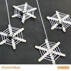 Halloween spider craft- gymboree's photo on Instagram
