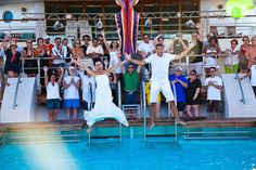 Andrea and Brian | Celebrity Century Cruise Ship | Cozumel, Mexico | Destination Wedding