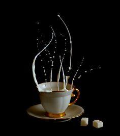 Anti-Gravity Coffee Time by Egor N