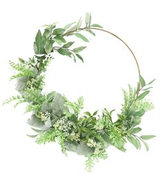 Fresh Picked Spring Leaves & Berry Round Wreath, in 2019 Flower Background Wallpaper, Flower Backgrounds, Background Images, Summer Door Wreaths, Wreaths For Front Door, Cadre Design, Don Du Sang, Picture Wreath, Stick Wreath