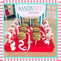 Cake Pops für die Scheidungsparty  by #sandybel #cakepops #scheidungsparty