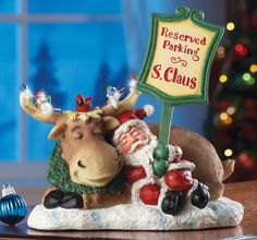 End Of A Long Night Santa Claus Christmas Sculpture. #SantaClaus #Santa #Claus #Christmas  #Figurine #Decor #Gift #gosstudio .★ We recommend Gift Shop: http://www.zazzle.com/vintagestylestudio ★