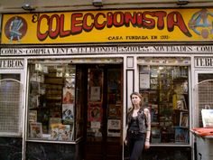 El Collecionista Comic Book Store in Madrid by Naked Madrid