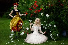 Queens of Wonderland. Off with her head by ~ideea on deviantART