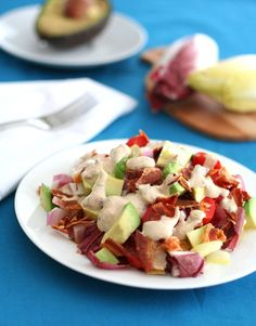 Endive Salad with Chipotle Ranch Dressing