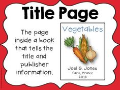 NON-FICTION TEXT FEATURES POSTERS - great freebie!!