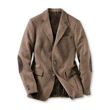 Shetland-Sakko aus Tweed in Muskat von Marling & Evans