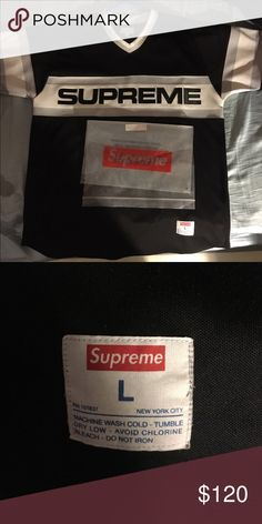 Supreme Jersey. Size Large 100% authentic. Supreme Shirts Tees - Short  Sleeve Hypebeast cf25512d796