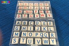 How to organize your letter tiles.