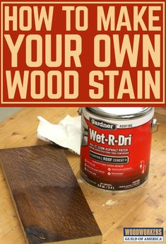 There are many ways to color wood, with the most common approaches being the use of commercially available wood stains and dyes. Over the years WWGOA has provided you with tons of tips for choosing the best wood stain, and has even demonstrated the making wood stain from plants. But now George has discovered a new approach for making homemade wood stain, and you're not going to believe this one.