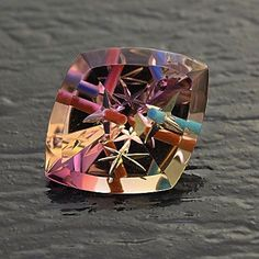"""Ametrine """"Gem-Intrusion""""©™ with turquoise and coral Minerals And Gemstones, Rocks And Minerals, Beautiful Rocks, Mineral Stone, Rocks And Gems, Stones And Crystals, Gem Stones, Gemstone Jewelry, Turquoise"""