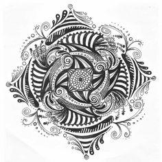 Zentangle #8