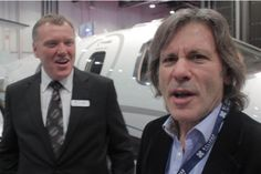Iron Maiden's Bruce Dickinson on the Eclipse 550 - Corporate Jet Investor