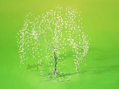 White weeping willow by beads-poet