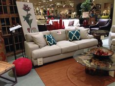 jonathan lewis sofa at cardis furniture so in love so comfy and