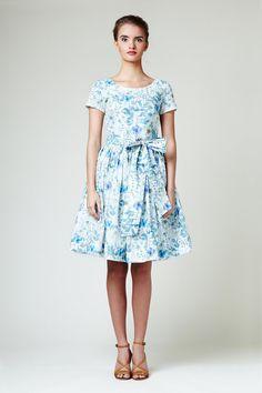 MIA - coton robe faite de tissu Liberty par Mme Pomeranz