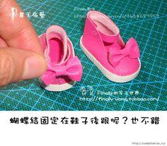 Mimin Dolls: sapato para doll