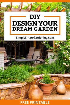 Have you ever seen a beautiful garden online, and wanted to design your own? Before you head to the garden center or nursery, follow these step-by-step instructions for designing your garden. You'll create a plant wish list, learn about good landscape design, and make a garden layout. We'll also cover beginner mistakes to avoid. Click to download the workbook