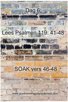 """De letter van vandaag de zesde letter van het Hebreeuwse alfabet is: Waw De psalmdichter praat over """"het je houden aan Gods wet en toch vrij zijn"""" We worden niet onderdrukt door de rege…"""