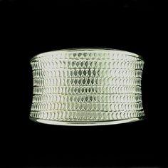 A sterling silver bracelet.