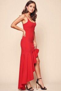 Shop The Emoji Asymmetrical Salsa Dancing Dress Red Selfie Leslie Red Salsa Dress Salsa Dress Dresses