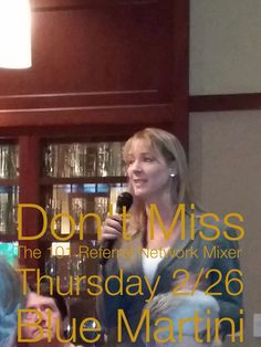 Thursday 2/26 at Blue Martini