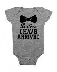 I Still Live with My Parents Funny Baby Bodysuit, Baby Creeper, Gift Cool Cute Trendy Modern Fun Unique Gift Shower Under 20 25 Ladies I Have Arrived Funny Baby Boy Onesie Onsy Onsie by bougeak Baby Outfits, My Bebe, New Baby Boys, Baby Gifts For Boys, Newborn Baby Boy Gifts, New Baby Gifts, Diy Baby, Cute Baby Clothes, Funny Clothes