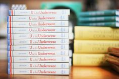 U is for Underwear o