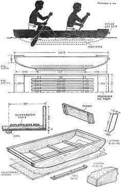 Самоделкин: Как сделать лодку плоскодонку своими руками?