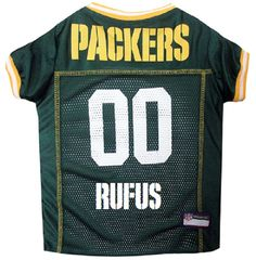 Green Bay Packers Dog Jersey Personalized XS-XXL NFL Pet Clothes    pet  apparel    pet clothing    cat clothes    dog clothes    sports fan 64183b36f