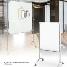 Mobile Glass Markerboards