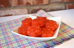 These easy sour strawberry gummies combine gut healing grass-fed gelatin, sweet strawberries and tart lemon juice.