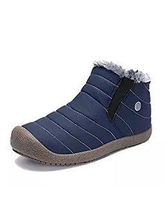 a315621dda41b Enjoy exclusive for Enly Winter Snow Boots Slip-on Water Resistant Booties  Men Women Kids