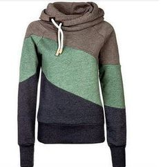 Item Type: Hoodies Item Type: Sweatshirts Gender: Women Clothing Length: Regular Sleeve Style: Regular Pattern Type: Striped Style: Fashion Type: Pullovers Hooded: Yes Fabric Type: Knitted Material: C