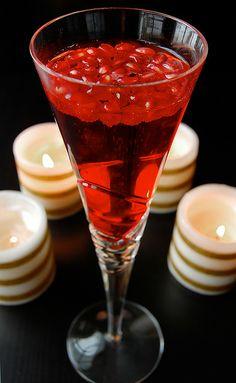 Pomegranate Champagne recipe