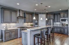 Supreme Kitchen Remodeling Choosing Your New Kitchen Countertops Ideas. Mind Blowing Kitchen Remodeling Choosing Your New Kitchen Countertops Ideas. Kitchen Ikea, Farmhouse Kitchen Cabinets, Kitchen Cabinet Design, Modern Kitchen Design, Island Kitchen, Kitchen Decor, Oak Cabinets, Kitchen Contemporary, Granite Kitchen