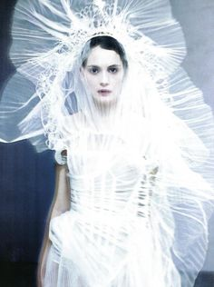 The Power of White - (March Supplement) Vogue Italia Paolo Roversi…