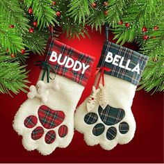 b67e76e65c02f 31 Best dog Christmas stocking images