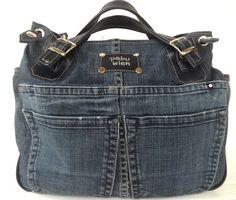 You already know our answer to Diy Jeans, Jeans Denim, Jeans Material, Atelier Couture Diy, Blue Jean Purses, Denim Handbags, Denim Purse, Denim Ideas, Denim Crafts