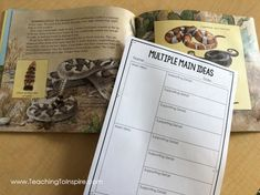 Check out this post for main idea mentor texts and read alouds for teaching main idea. The post also includes tips for introducing and teaching main idea to upper elementary students. Upper Elementary, Elementary Schools, Main Idea Activities, Teaching Main Idea, Reading Themes, Mentor Texts, Read Aloud, Date, Teacher Stuff