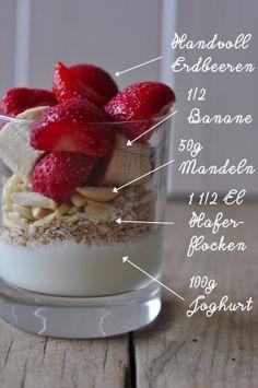 Erdbeer Frühstücks Smoothie