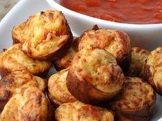 Muffins με γεύση πίτσα - Marymary Cook